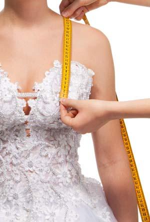Änderungsservice Hochzeitskleid